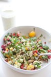 Summer Chopped Salad #macrofriendly #light #healthy www.lillieeatsandtells.com