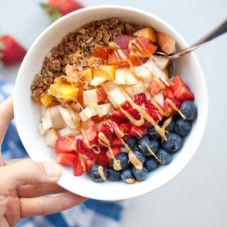 The Best Yogurt and Cottage Cheese Breakfast Bowl