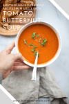 Tomato Butternut Soup- another macro friendly recipe from Lillie Eats and Tells. www.lillieeatsandtells.com