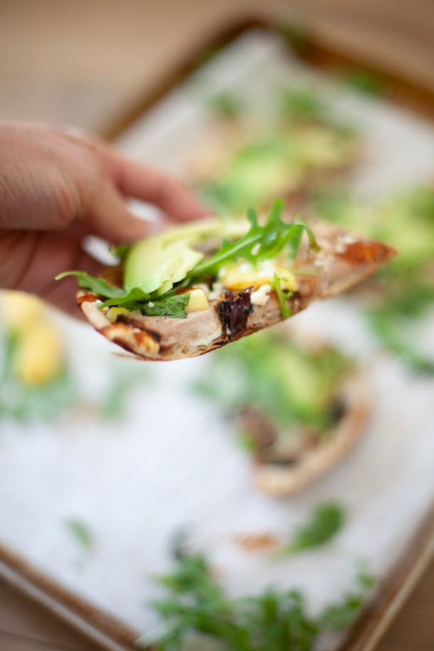 try this quick and fun recipe for flatbreads. www.lillieeatsandtells.com