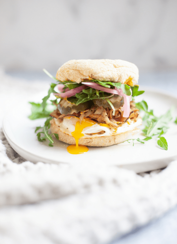 Start your day off right with this cuban breakfast sandwich www.lillieeatsandtells.com