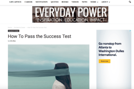How To Pass the Success Test
