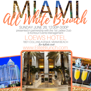 Miami Brunch Flyer