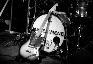 Make Do And Mend perform at the Fleece, Bristol. 23 May 2012 Photo by Adam Gasson / threesongsnoflash.net