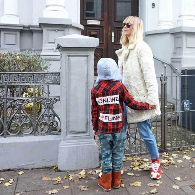 Winter Outfit für Mama & Mini& Lilli & Luke