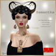 [LD] Samantha - Headpiece & Cards Set xs