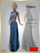[LD] Nancy - Top & Skirt - Blue xs