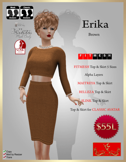 [55] Erika - (FITMESH) - BrownPIC