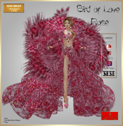 [LD] Bird of Love Rose (Updated) xs