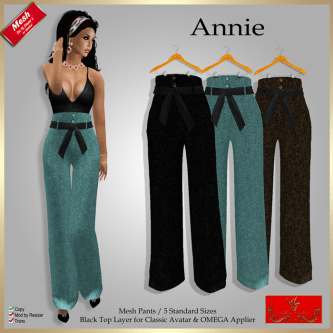 [SD] Annie - High Waist Pants X 3PIC