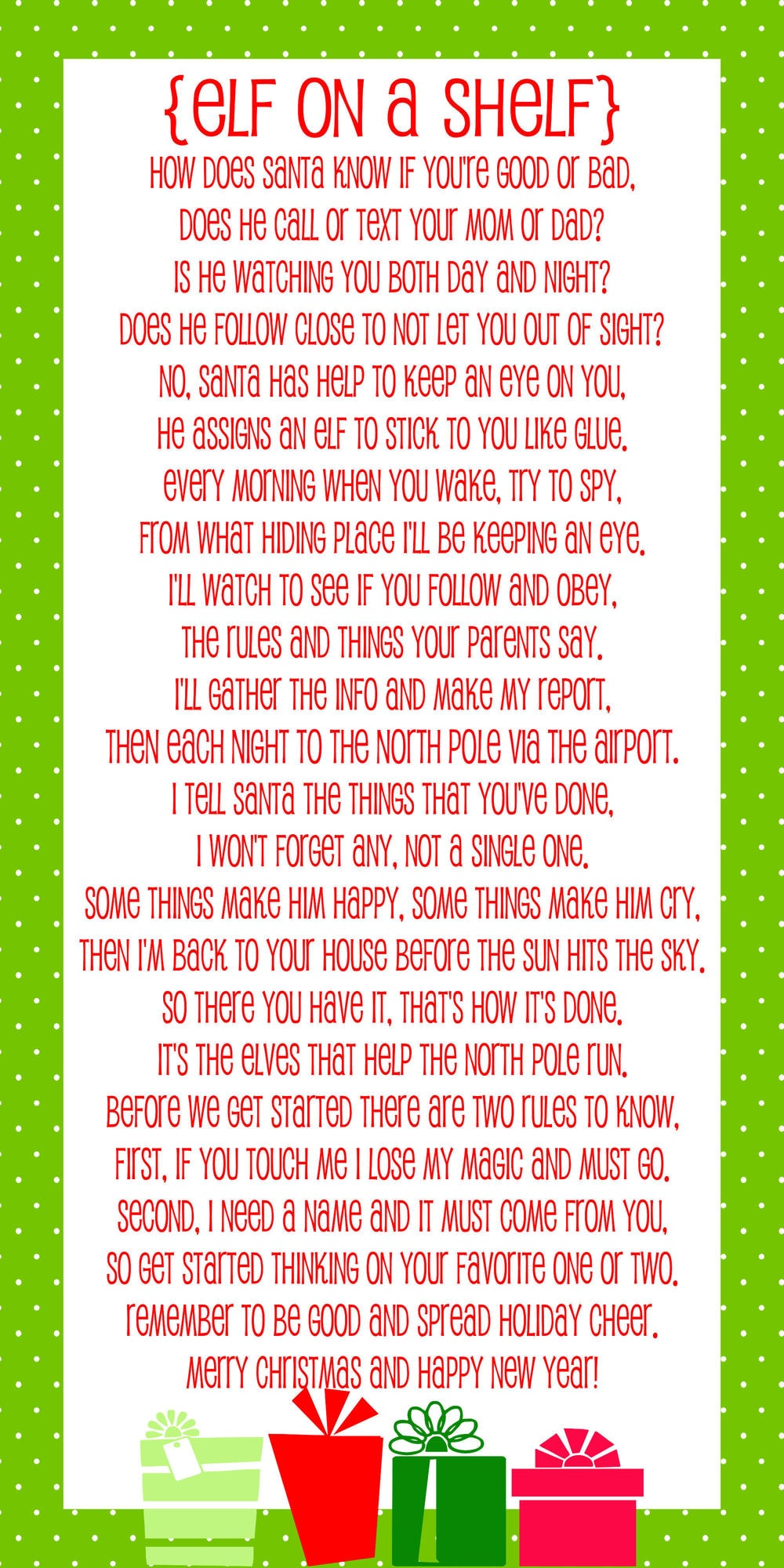 photo about Printable Letters From Elf on the Shelf titled Elf upon the Shelf Options for Introduction: 10 No cost Printables