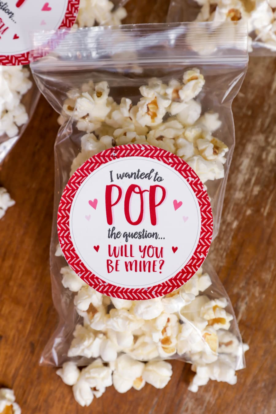 Valentine Popcorn Treat