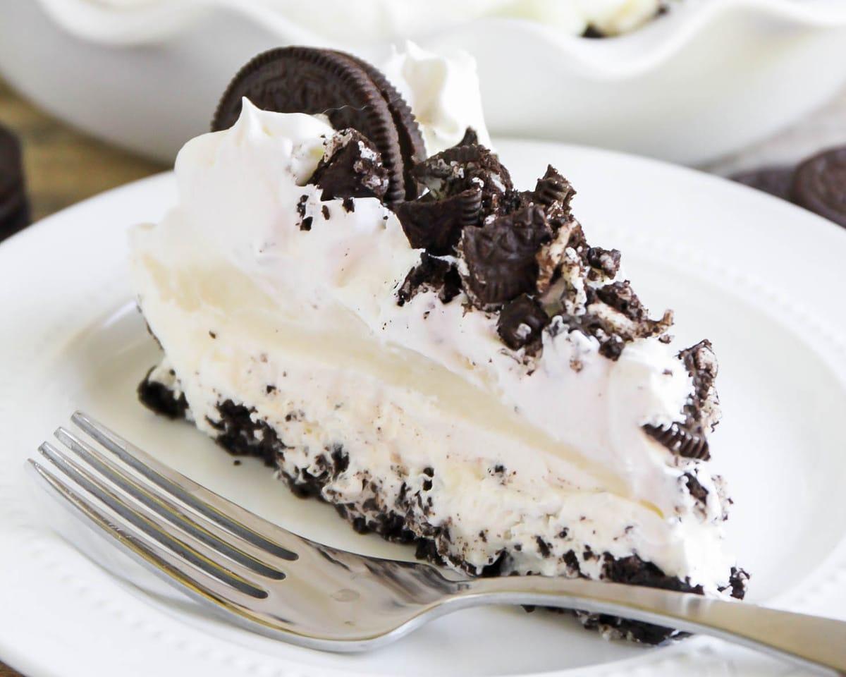 Oreo Pudding Pie Recipe No Baking Involved Lil Luna