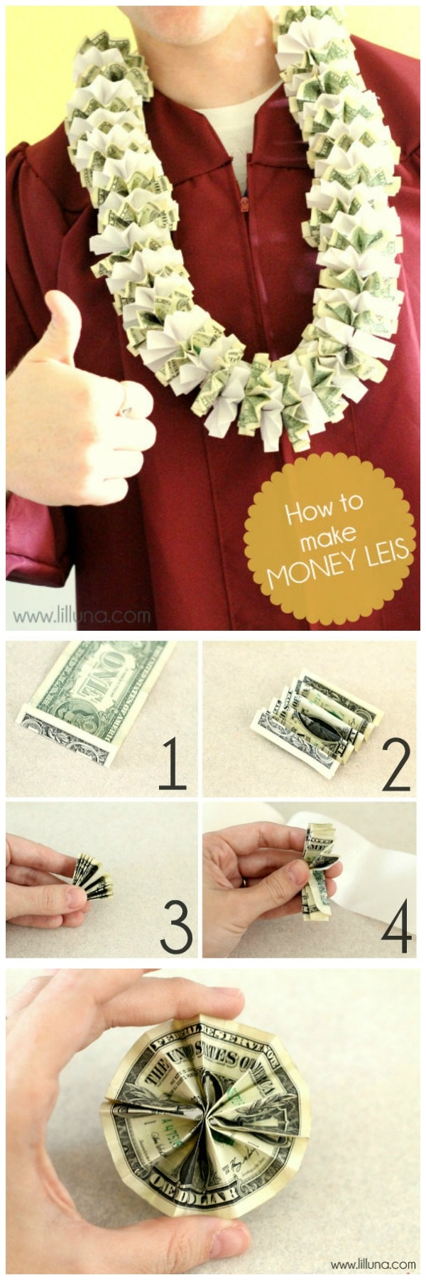 How To Make A Money Necklace : money, necklace, Money