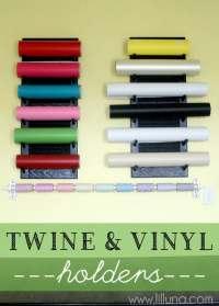 Twine and Vinyl Holders