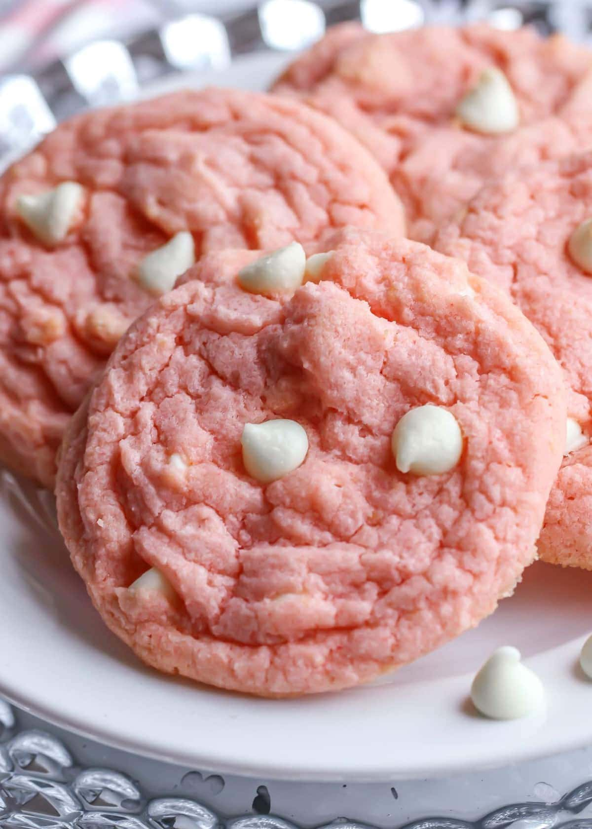 Strawberries Cream Pudding Cookies Video Lil Luna