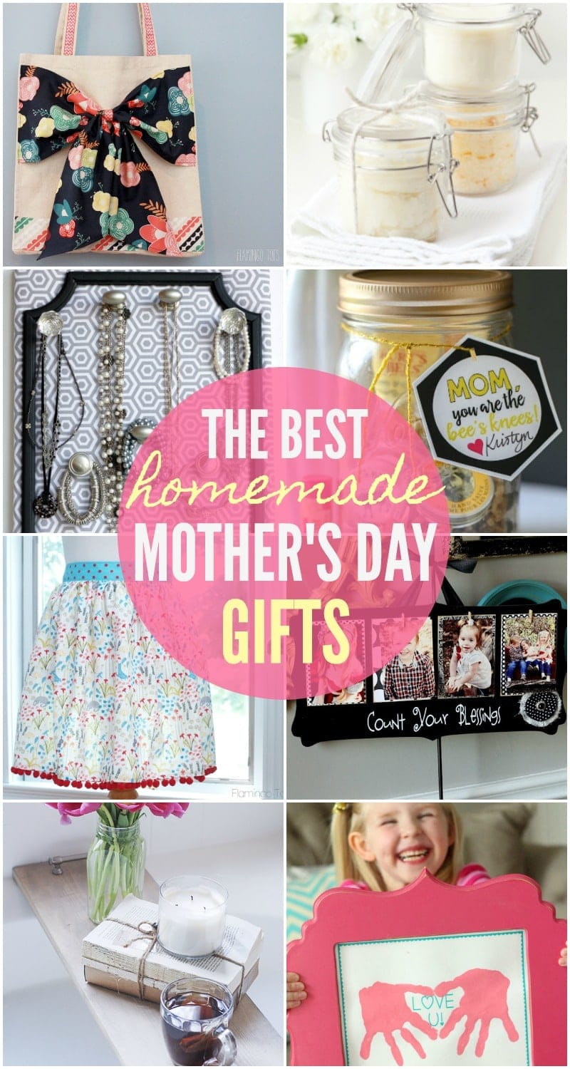 BEST Homemade Mothers Day Gifts So Many Great Ideas