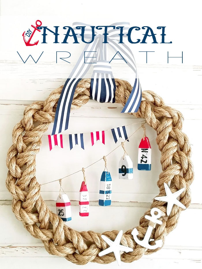 Nautical Wreath Lil 39 Luna