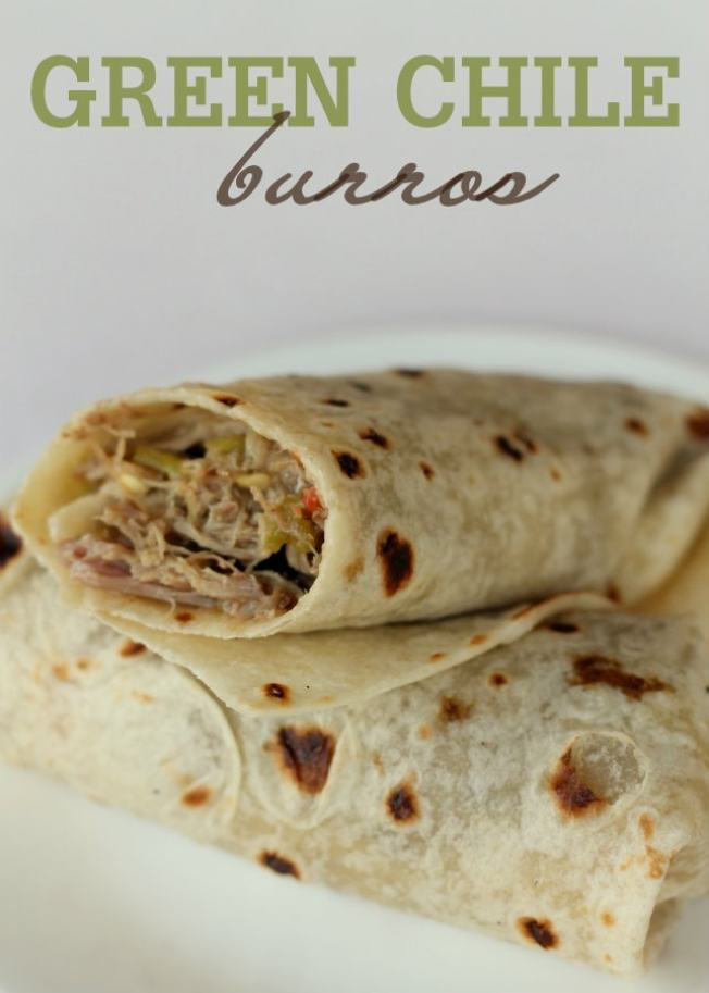 Green Chili Burros
