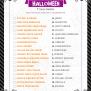 Halloween Trivia Print Lil Luna