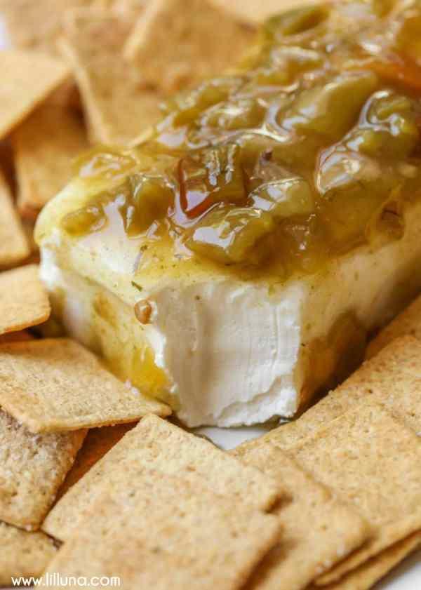 Green Chili Cream Cheese Dip Lil39 Luna