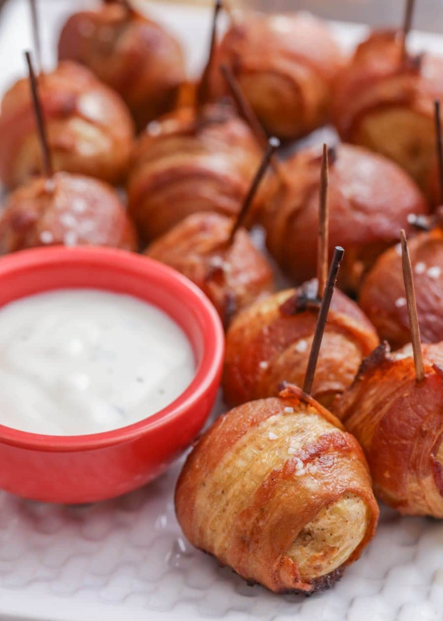 Bacon Wrapped Potatoes Lil Luna