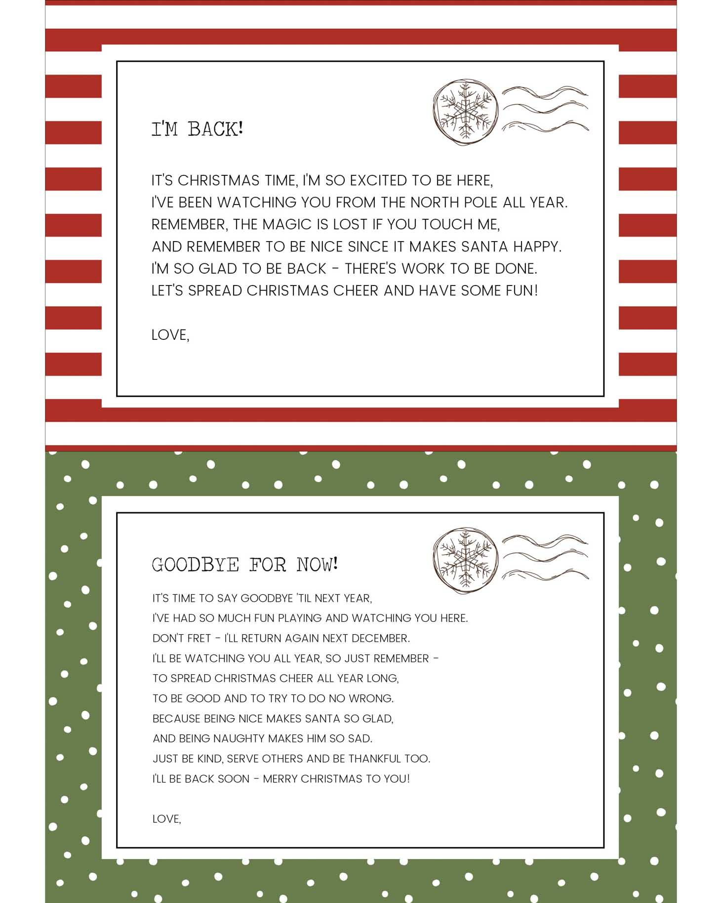 Funny Elf On The Shelf Ideas Free Printables