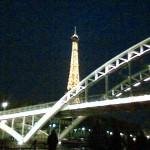 Eifel Tower from Seine River