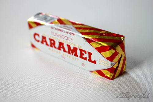 Tunnocks Caramel bar helping with my morning sickness