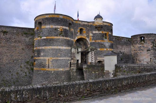 cosa visitare angers francia il castello