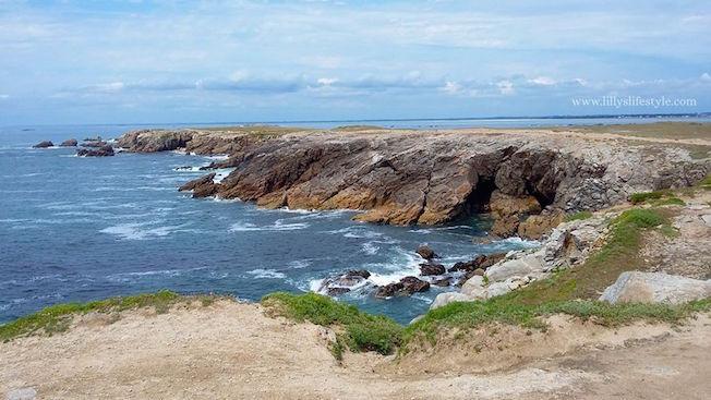 francia Quiberon costa selvaggia