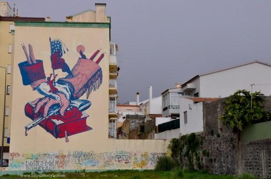 cyrcle street art são miguel azzorre