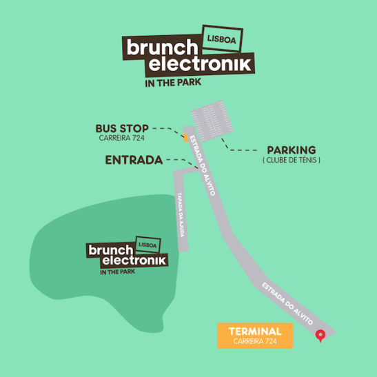 mappa brunch electronik lisbona