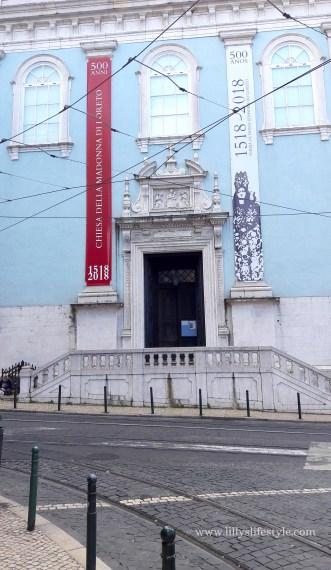 lisbona chiesa degli italiani