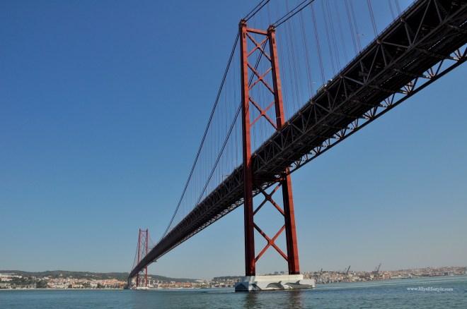 ponte 25 abril lisbona
