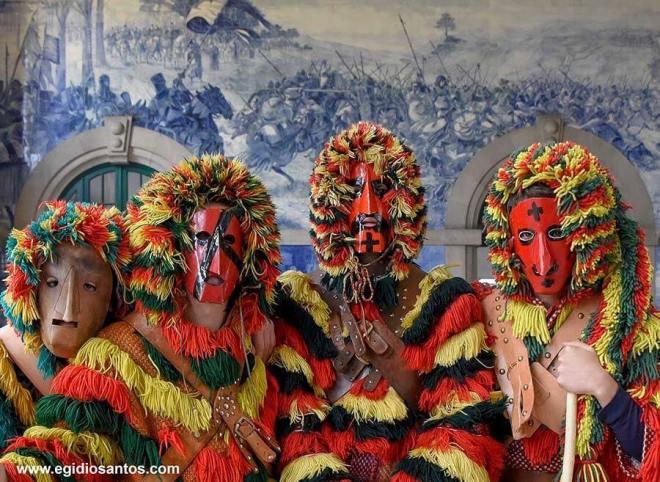 maschere iberiche belem lisbona