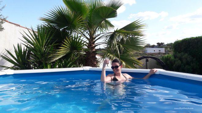 casa piscina portogallo
