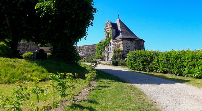 francia bretagna Rochefort-en-terre