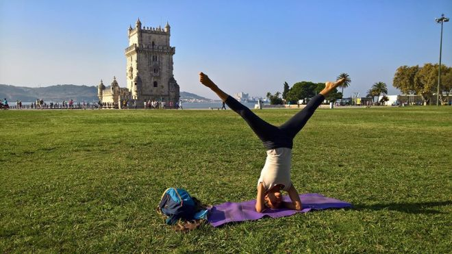 lisbona lezione yoga belem