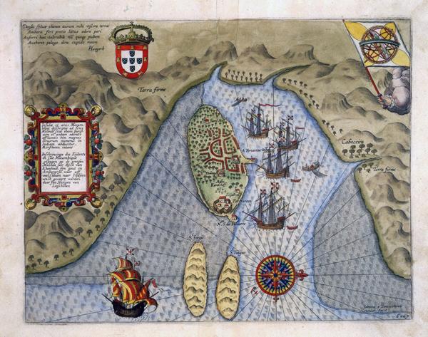 mappa colonie portoghesi