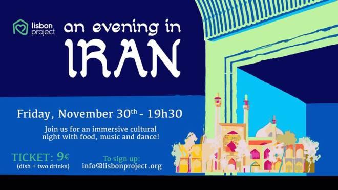 evento Iran a Lisbona