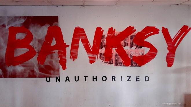 bruxelles esposizione banksy non autorizzata