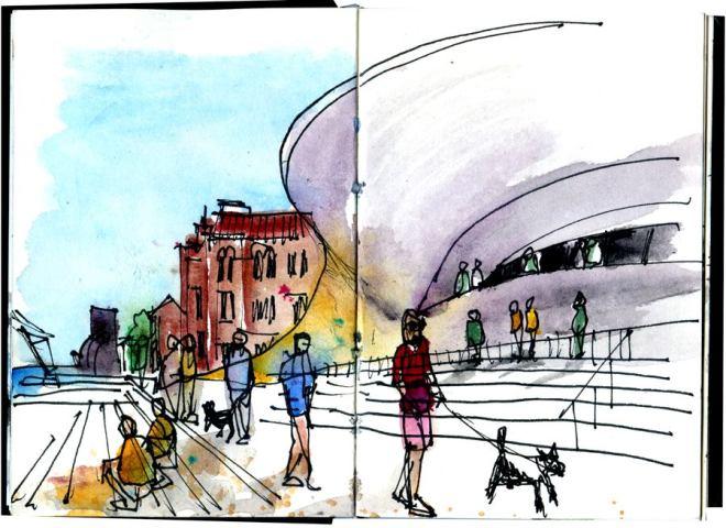 incontro Urban Sketchers lisbona portogallo