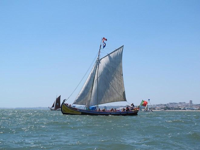giro barca a vela barreiro portogallo