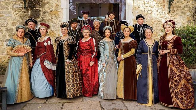 castello são jorge lisbona danze medievali
