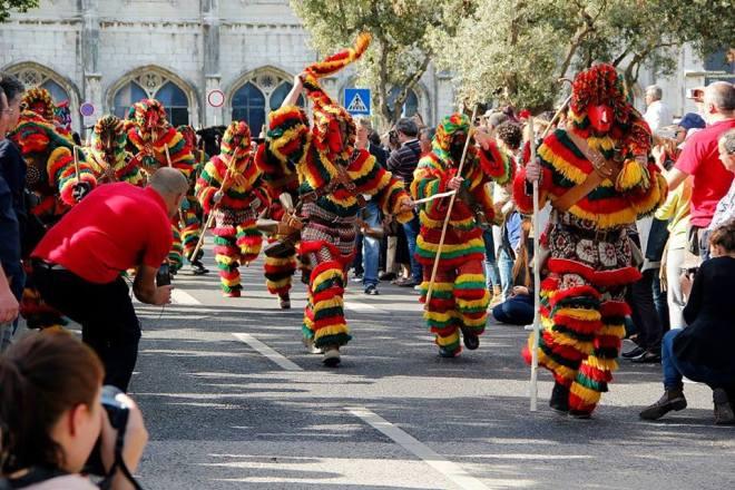 lisbona festival internazionale maschere iberiche
