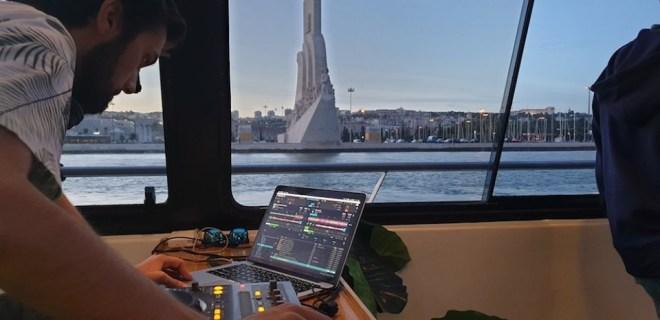 lisbona festa in barca