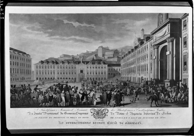 Lisbona antica Rossio