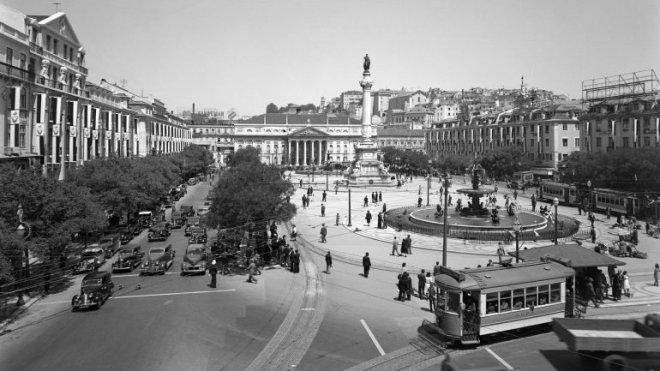 piazza rossio lisbona