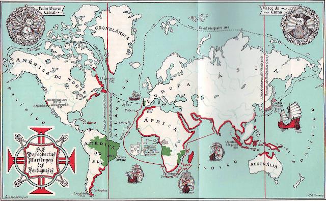 mappa scoperte marittime portoghesi